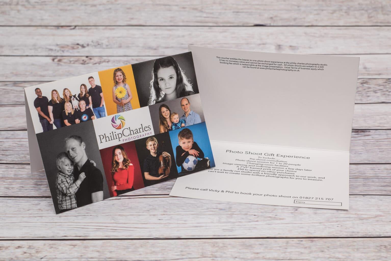 Family Photoshoot Gift Voucher
